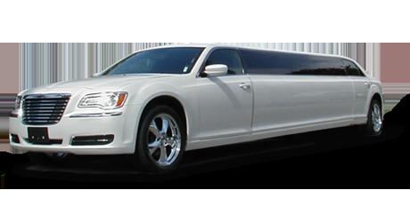 LALS - 10-12 Passenger Chrysler 300 Limos - White