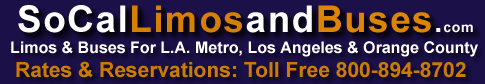 SOCAL- limos-and-buses